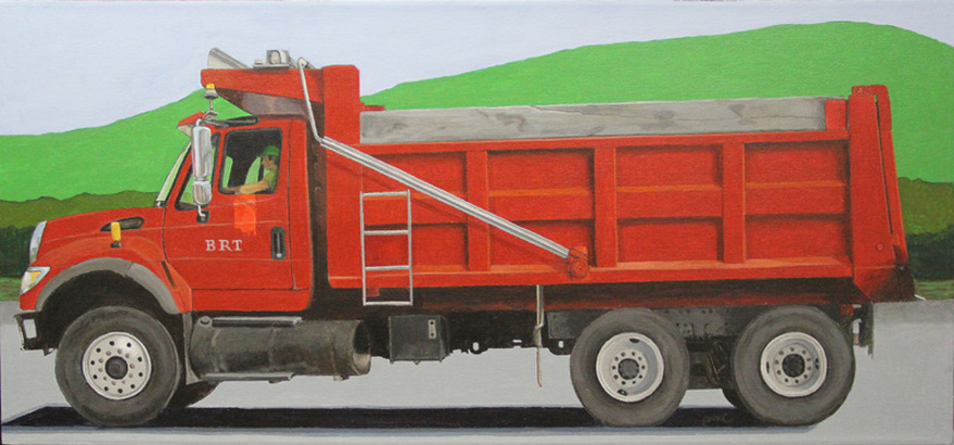 red giant truck - photo #25